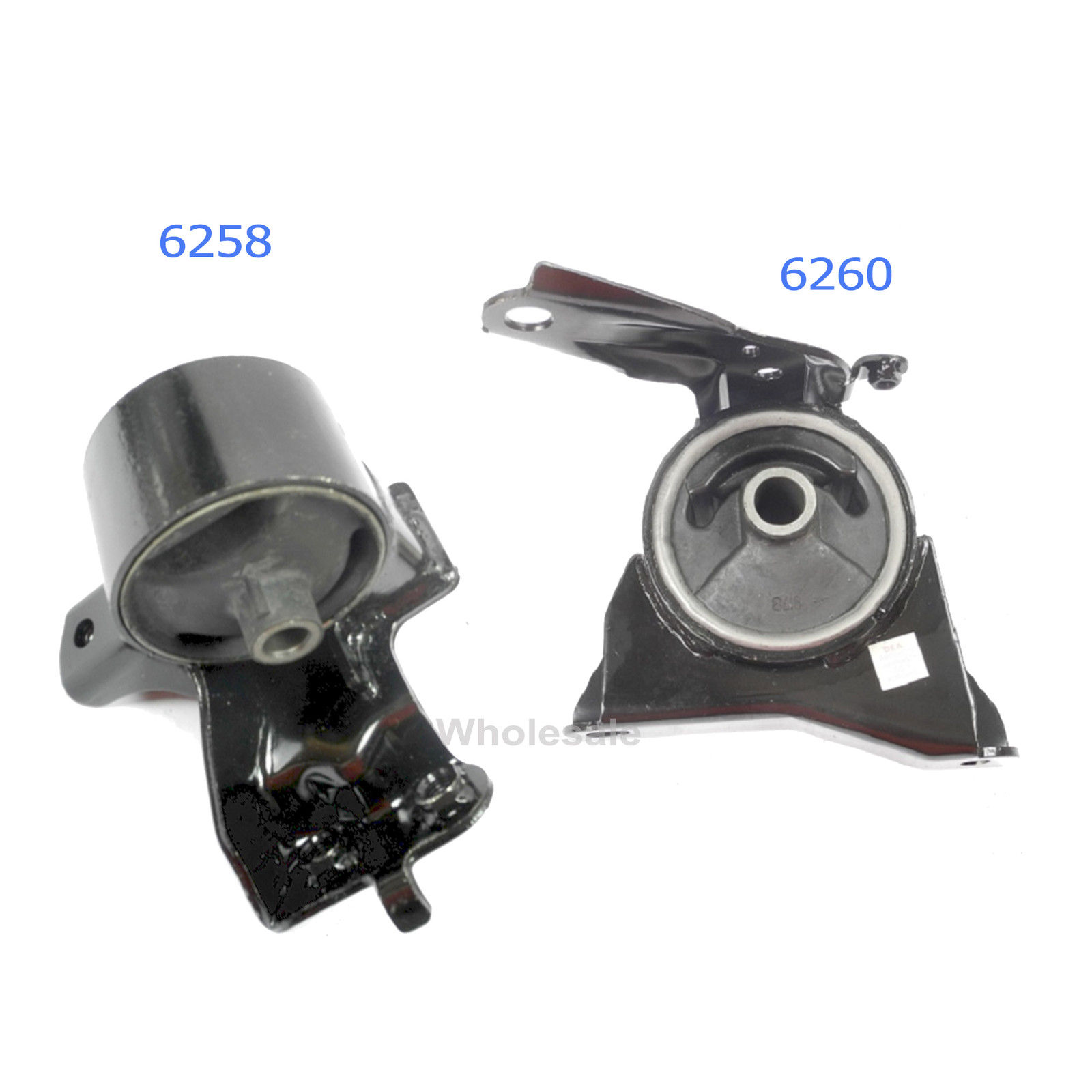 93-97 For Toyota Corolla GEO Prizm Set 2 Trans Engine Motor Mount 6258 6260 M452