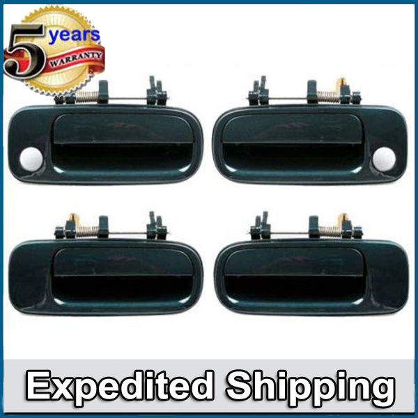 SET 1992 thru 1996 Outside Outer Exterior Door Handles Fits 4 pcs Toyota Camry