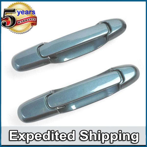 Exterior Door Handle Front Left /& Right for 98-03 Toyota Sienna 8N7 Sailfin Blue