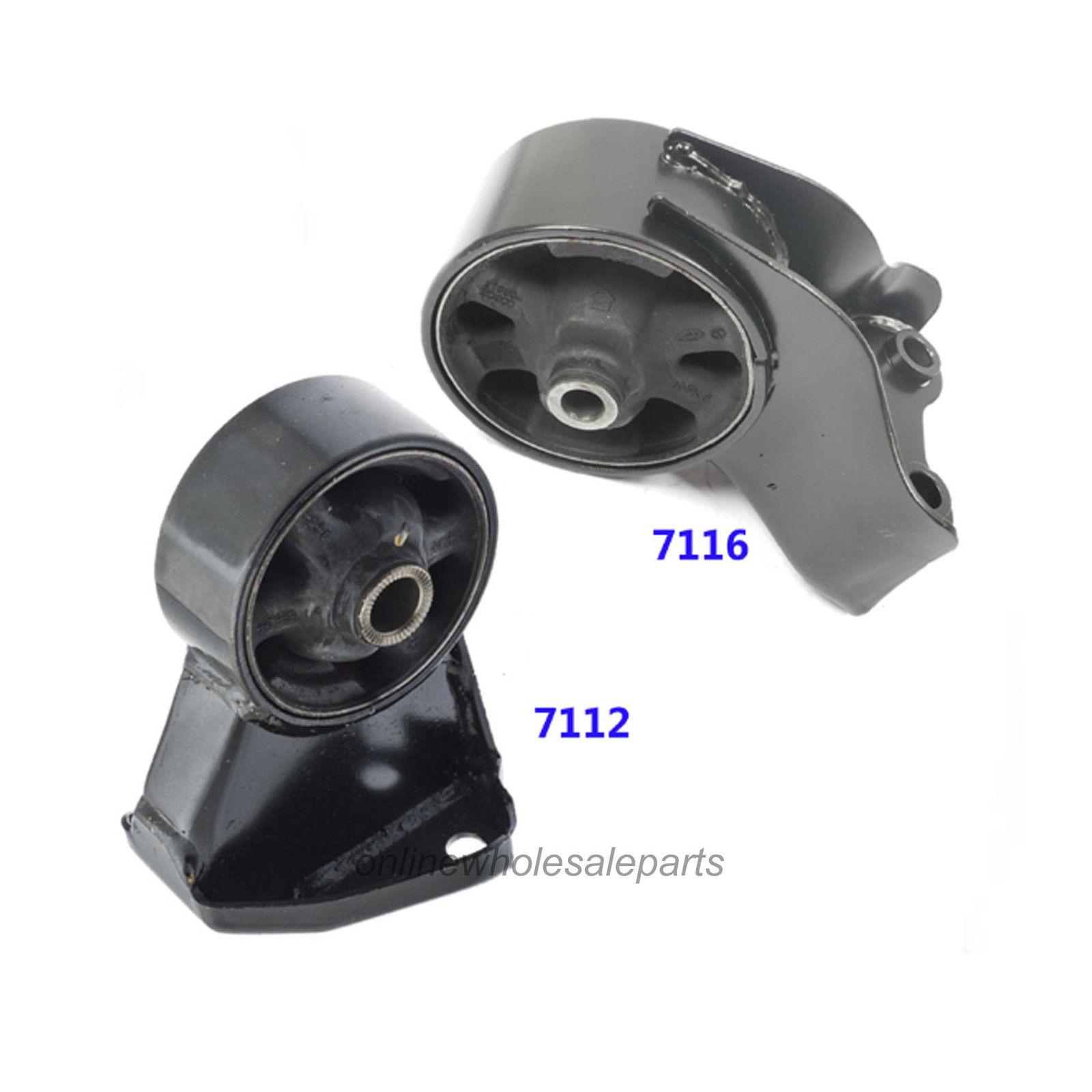 03-08 Hyundai Tiburon 2.7L Engine Motor Mount Set 2 PCS For Manual Trans. Fits