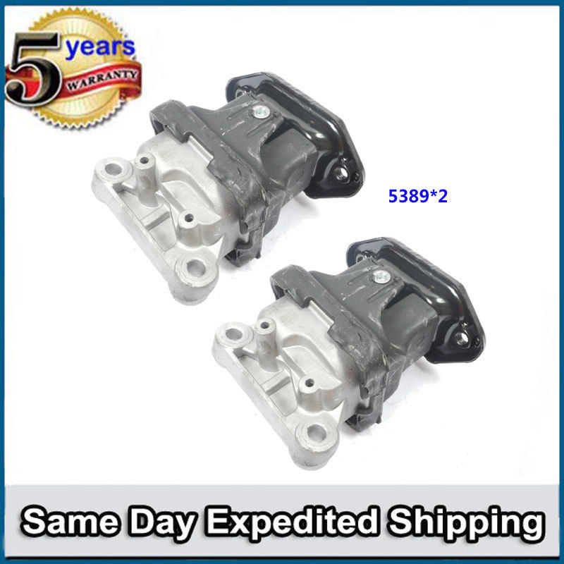 For 05-10 Chrysler 300//Dodge Charger Magnum 2.7//3.5 Front Motor Mount 2PCS M368