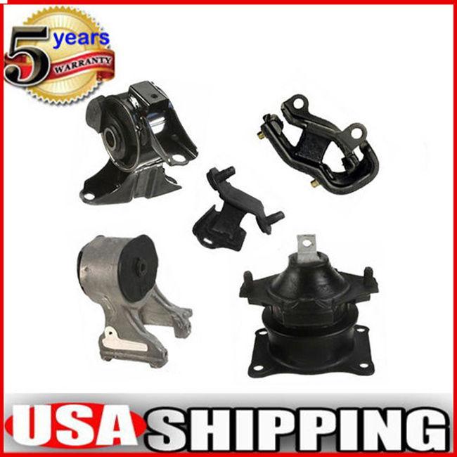 New For 05-07 Honda 6582 4559 4526 4553 4555 M415 Engine Motor Mount Set