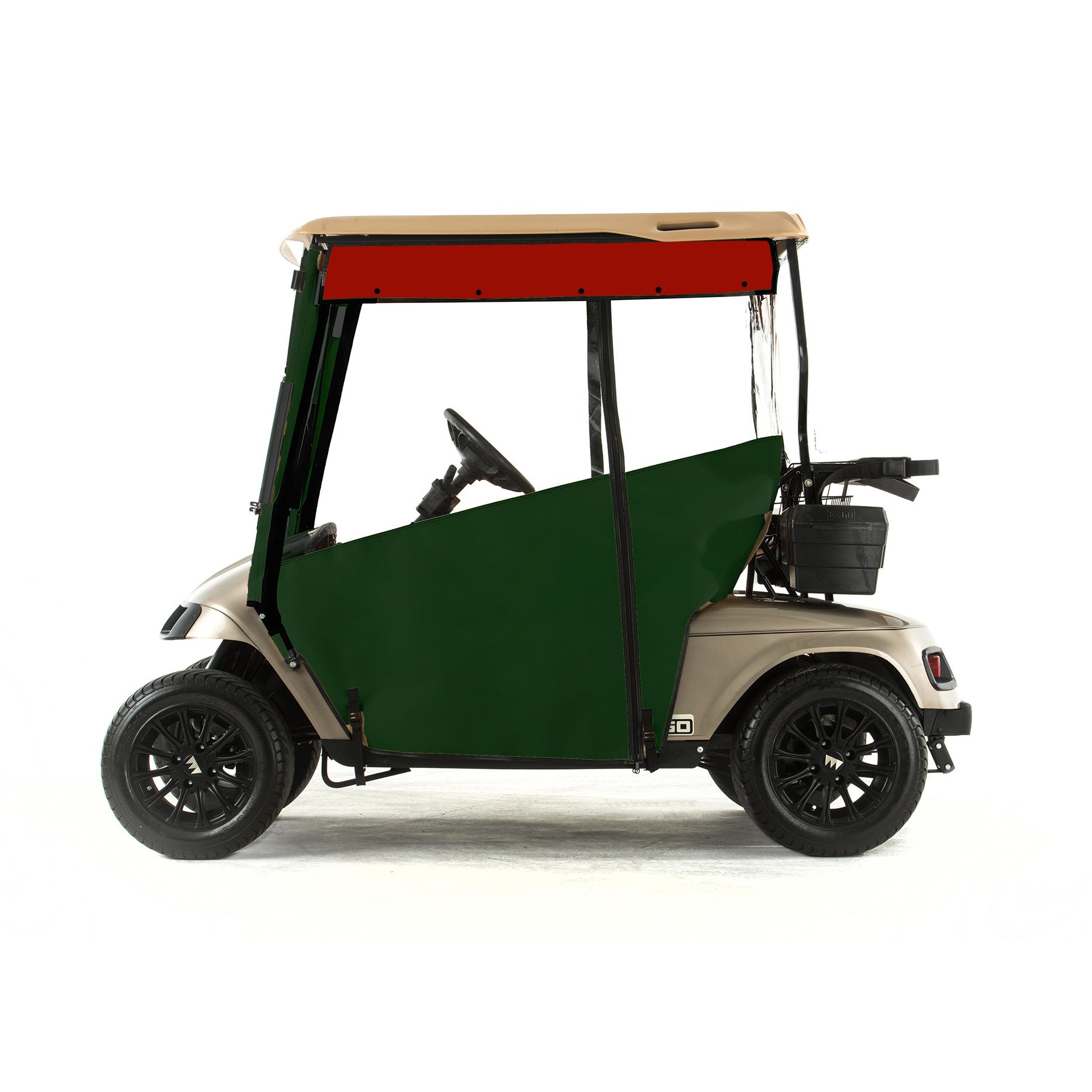 Sunbrella Golf Cart Ezgo Club Cover on club car seat covers, club car golf cart rain covers, sam's club golf cart covers,
