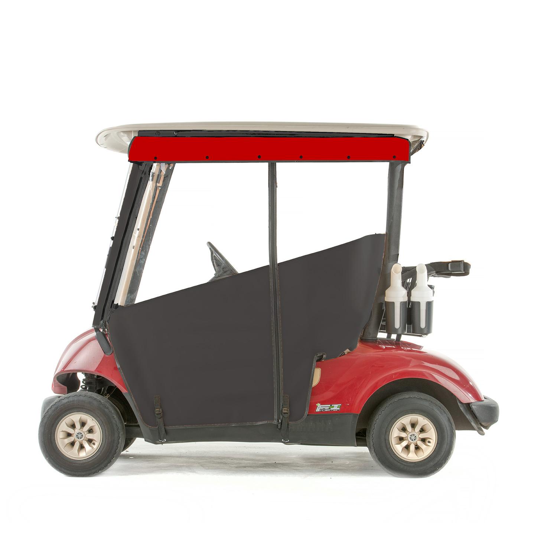 Sunbrella Golf Cart Enclosures on golf cart side curtains, golf cart rain curtains, golf cart convertible top,