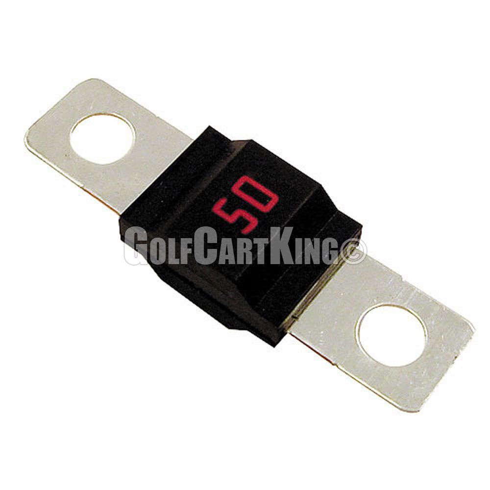 EZGO Golf Cart Powerwise 50 Amp 36 Volt Charger Fuse