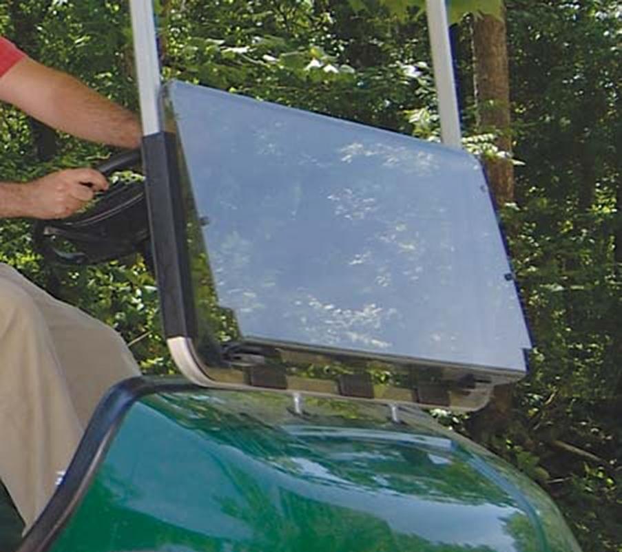 yamaha g29 golf cart all american folding flip windshield. Black Bedroom Furniture Sets. Home Design Ideas