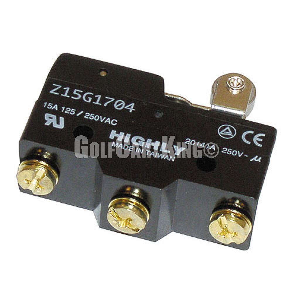 Ezgo Brake Pedal Micro Switch 3 Terminal Txt Marathon Golf Cart Ebay Light Kit Wiring Diagram
