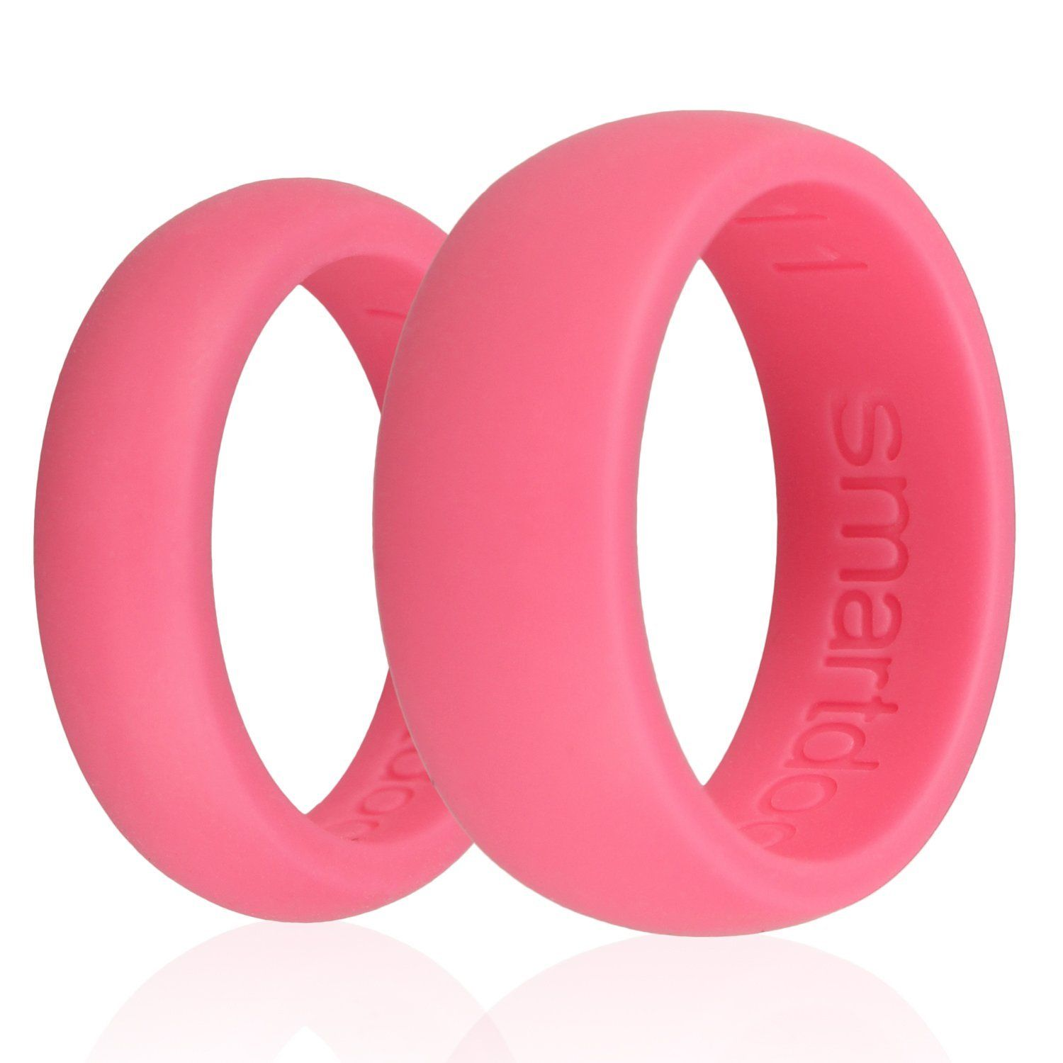 6PC Smartdoo Men& Women Love Silicone Band Flexible Hypoallergenic ...