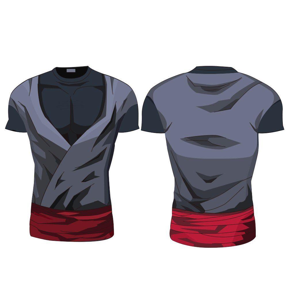 Dragon Ball Z Black Goku Trunks Short Long Sleeve Sport Cosplay ...