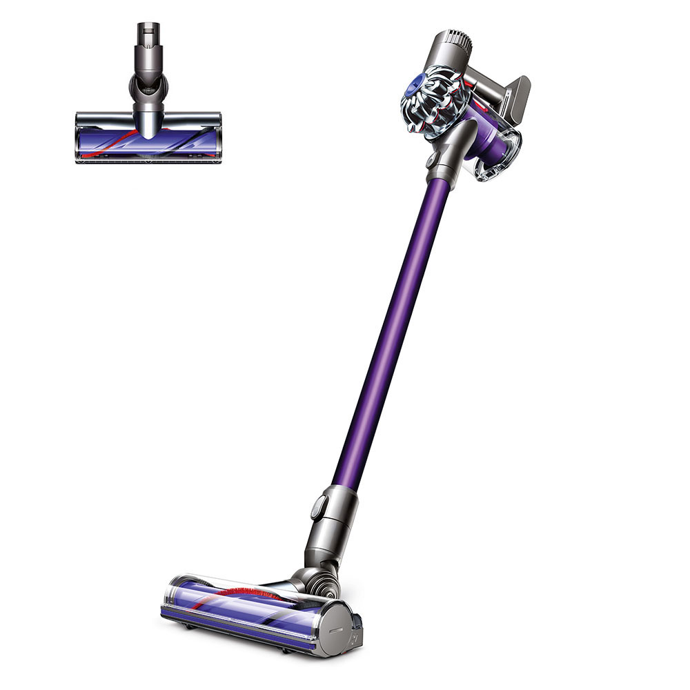 dyson sv04 v6 motorhead cordless vacuum fuchsia. Black Bedroom Furniture Sets. Home Design Ideas