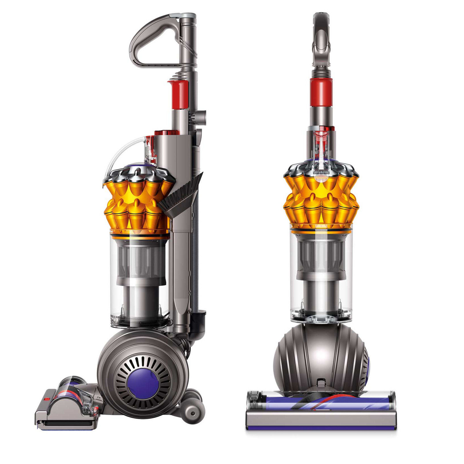 Details about Dyson Small Ball Multi Floor Upright Vacuum | Yellow |  Refurbished
