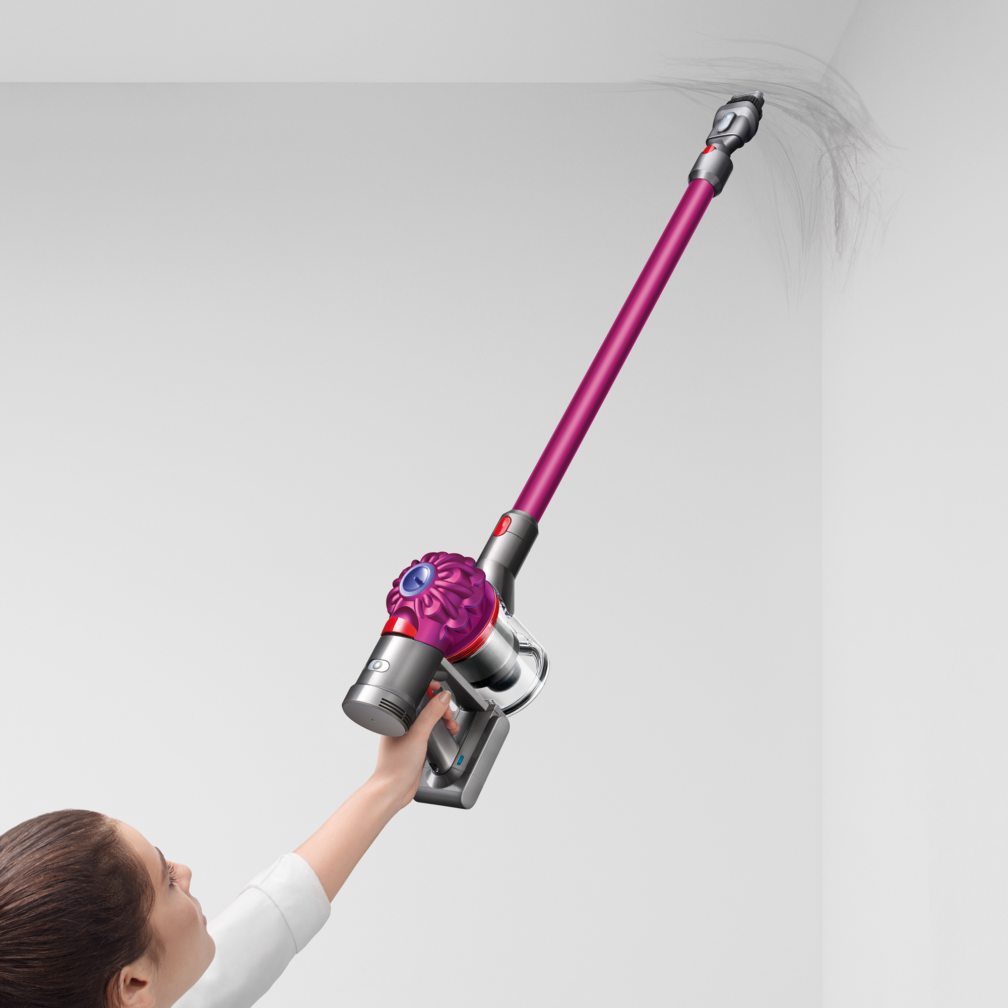 dyson sv11 v7 motorhead cordless vacuum fuchsia new ebay. Black Bedroom Furniture Sets. Home Design Ideas