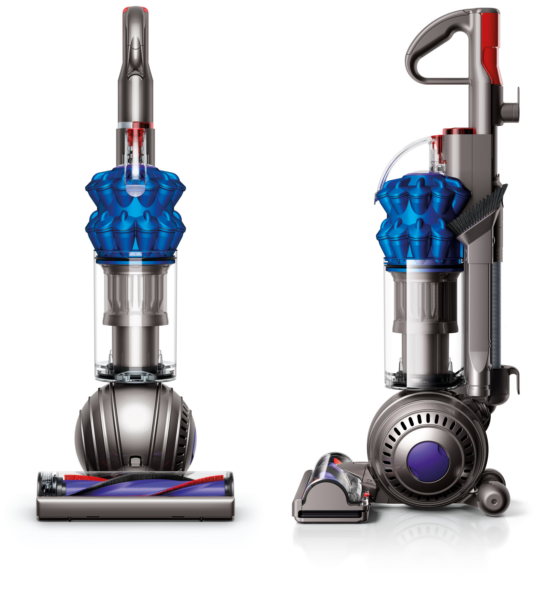 Dyson DC50 Ball Compact Allergy HEPA Upright Vacuum (Blue) + $15 Gift Card