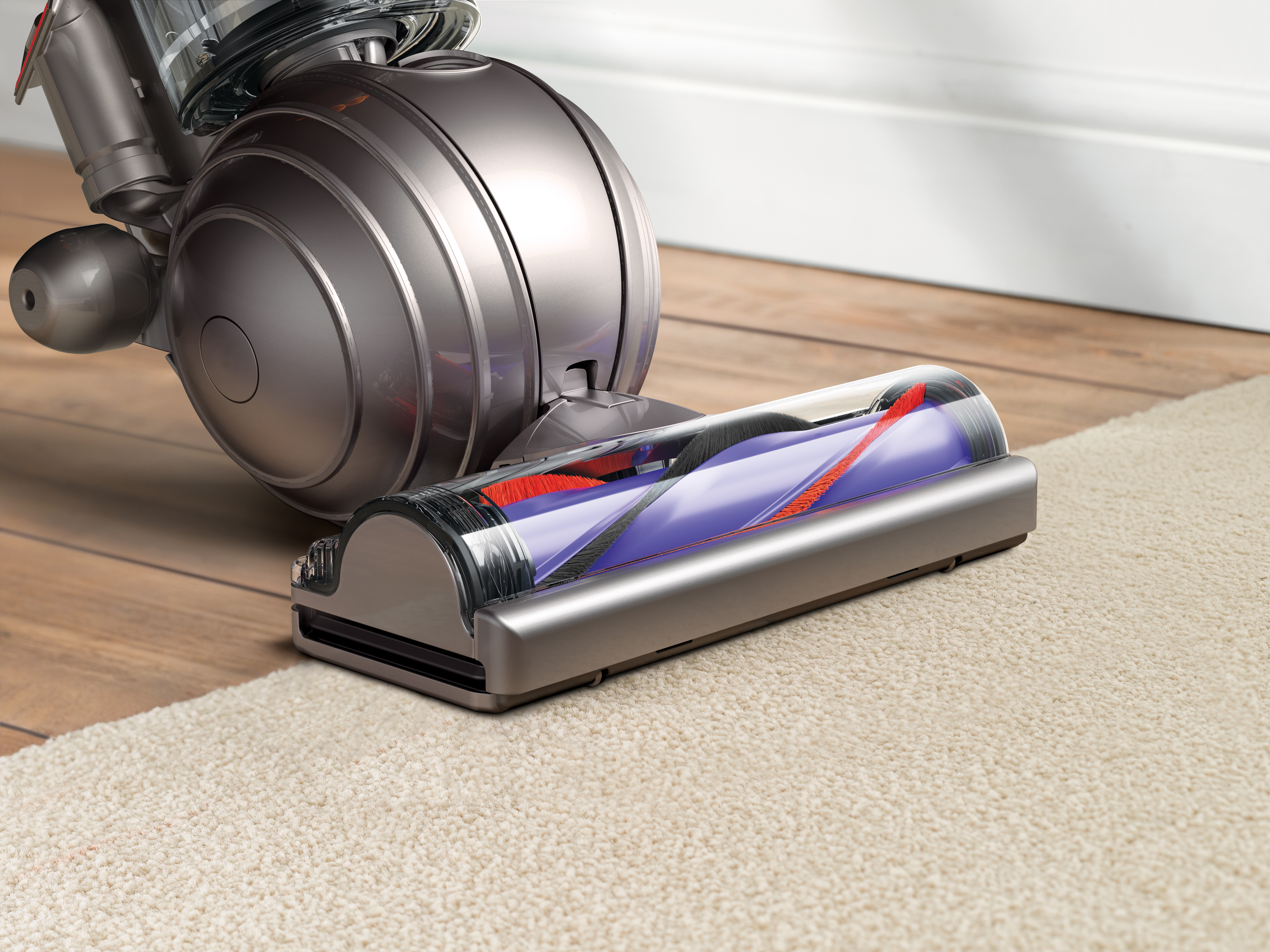 Dyson-DC50-Ball-Compact-Allergy-HEPA-Upright-Vacuum-Blue-New thumbnail 5