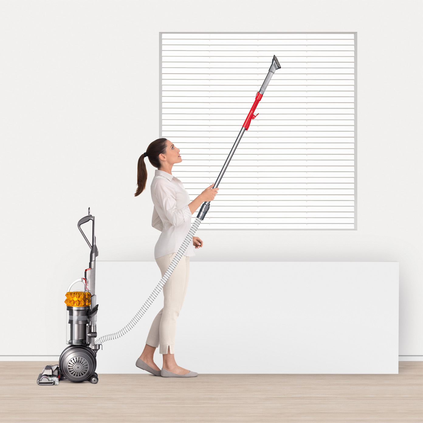 Dyson-Cinetic-Big-Ball-Total-Clean-Upright-Vacuum-Yellow-New thumbnail 4