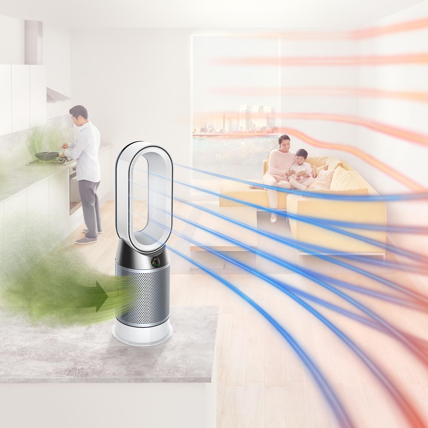 Dyson-HP04-Pure-Hot-Cool-Purifier-Heater-amp-Fan thumbnail 16