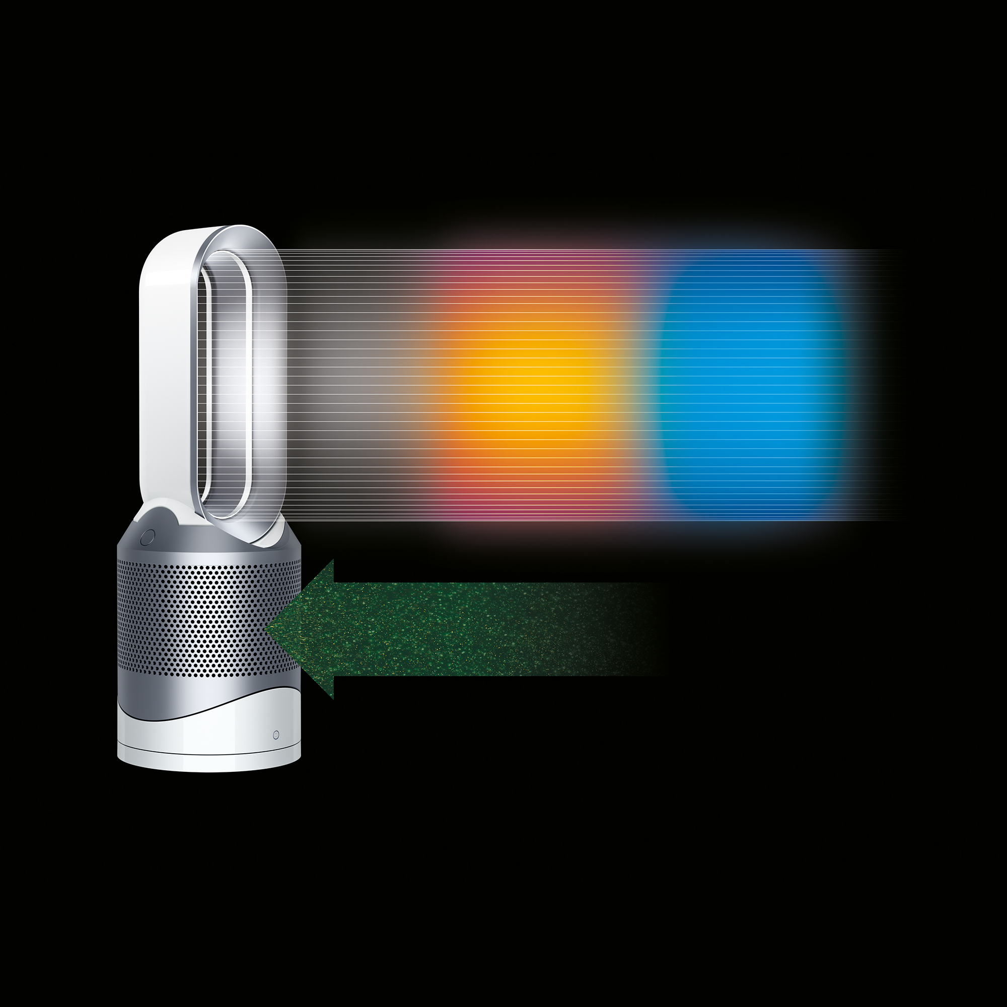 Dyson-HP02-Pure-Hot-Cool-Link-Connected-Air-Purifier-Heater-amp-Fan-New thumbnail 23