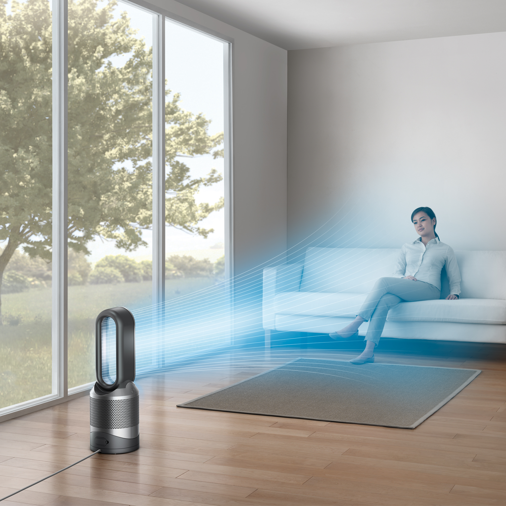 Dyson-HP02-Pure-Hot-Cool-Link-Connected-Air-Purifier-Heater-amp-Fan-New thumbnail 11