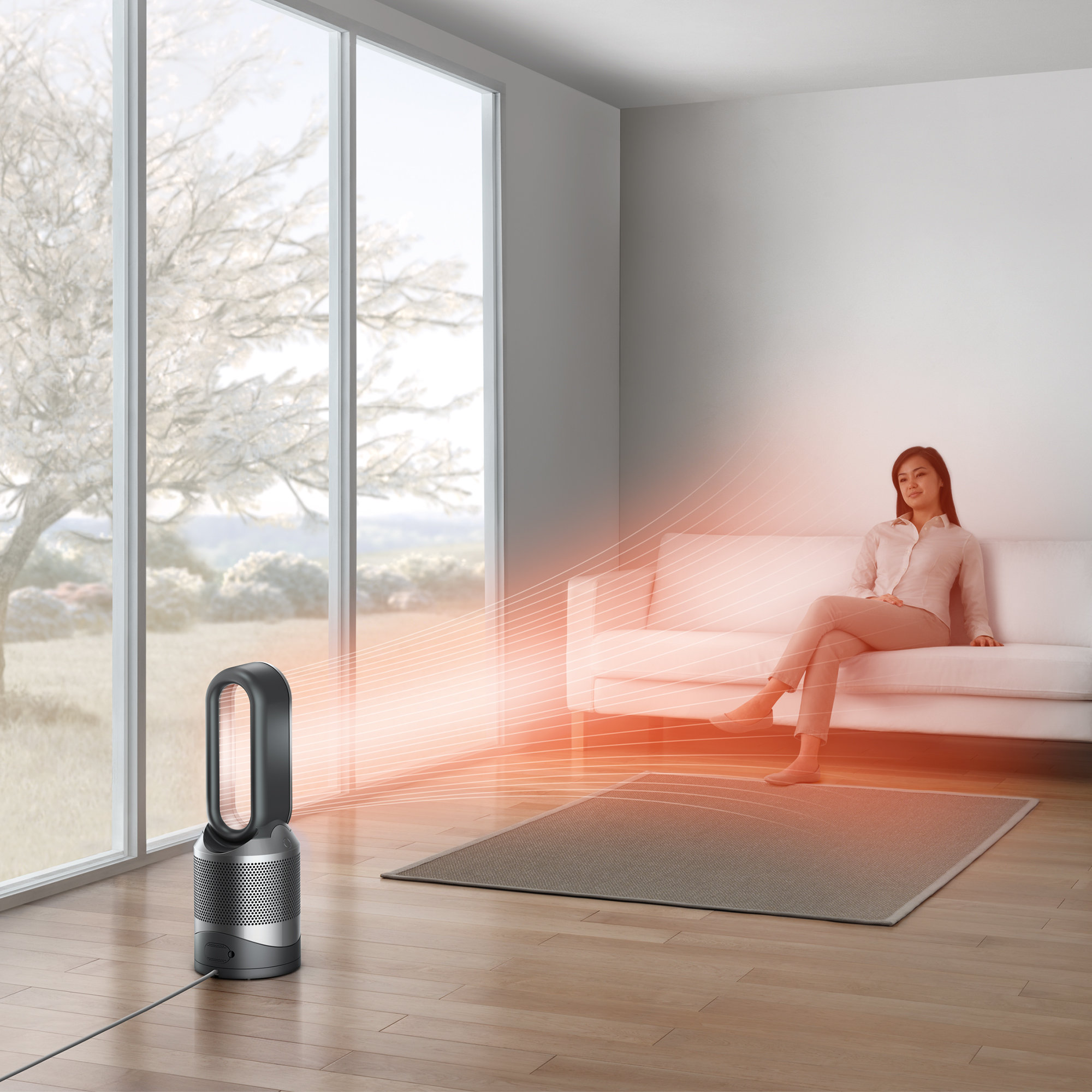 Dyson-HP02-Pure-Hot-Cool-Link-Connected-Air-Purifier-Heater-amp-Fan-New thumbnail 10
