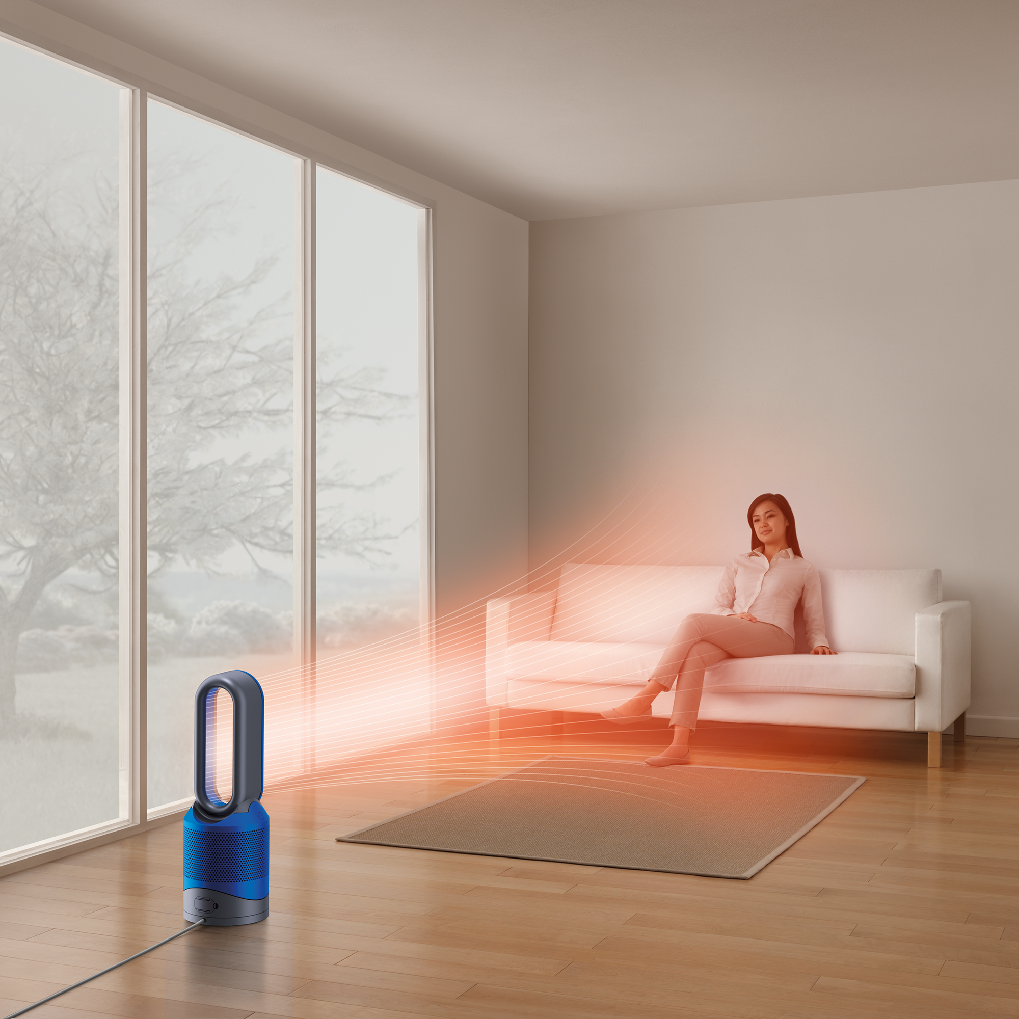 Dyson-HP02-Pure-Hot-Cool-Link-Connected-Air-Purifier-Heater-amp-Fan-New thumbnail 17