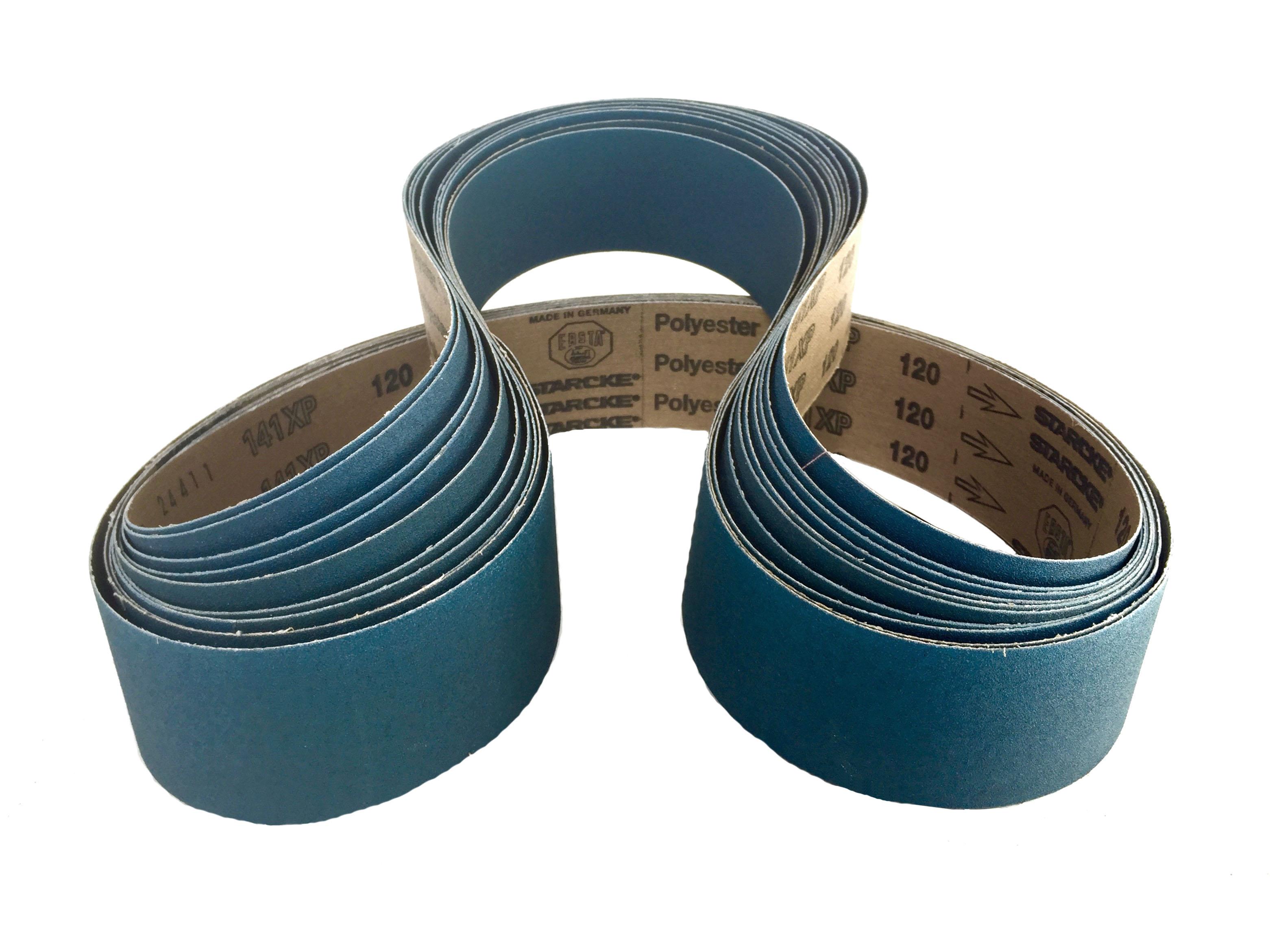 Sanding Belts 2 X 48 Zirconia Cloth Sander Belts 60 Grit 6 Pack