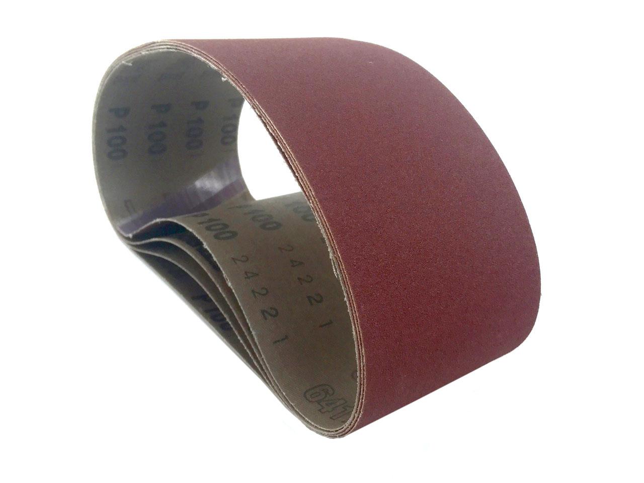 "10pc 6 /"" X 89 /"" 60 GRIT SANDING BELT Made in USA Butt Joint new sand belts A//O"