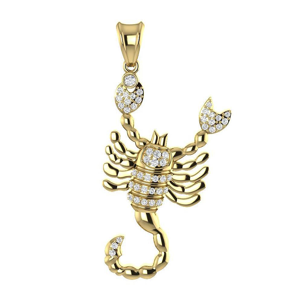 zirconia is scorpio with made pendant loading swarovski berricle itm necklace silver zodiac image