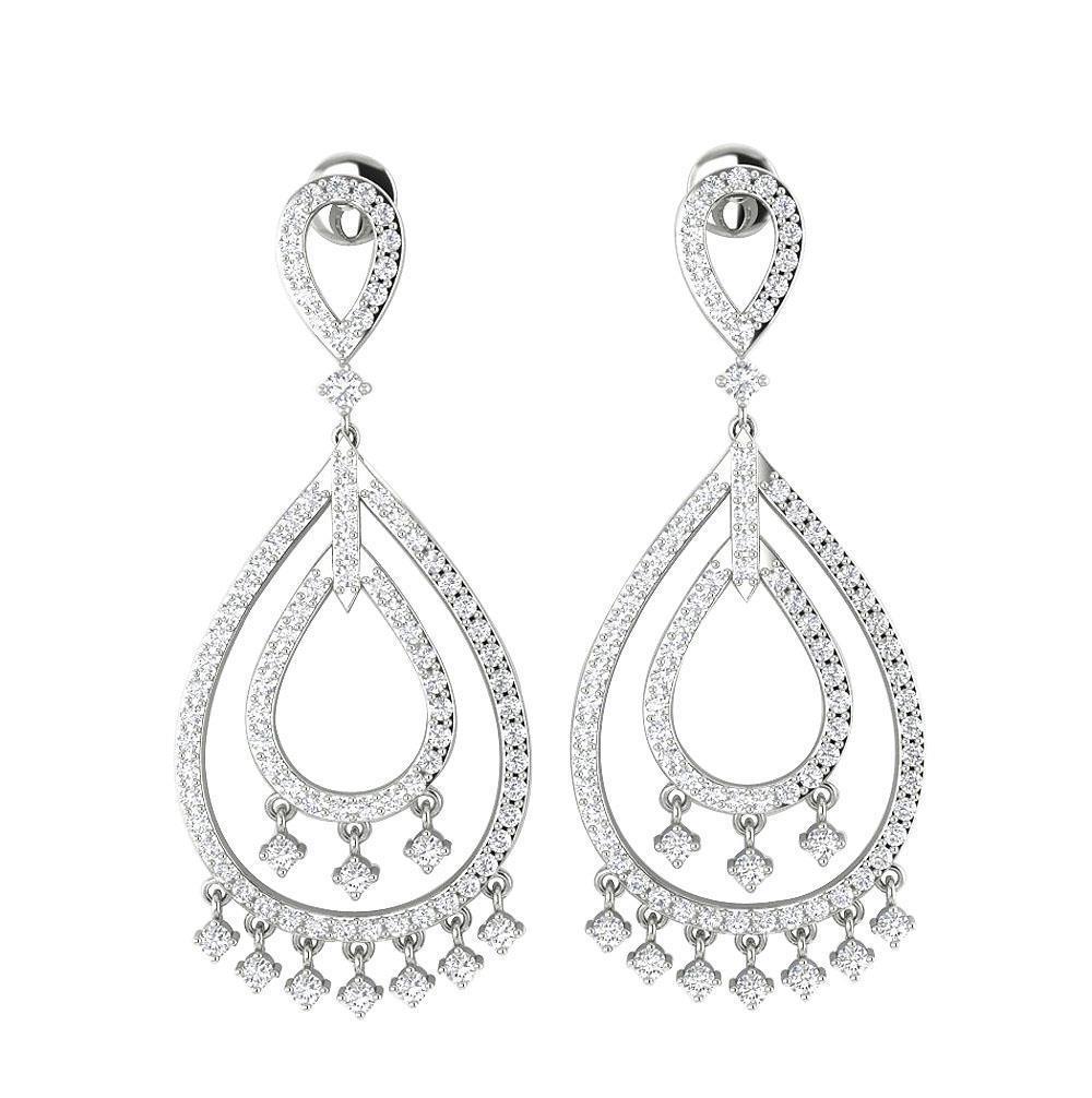 Dangle Chandelier Earrings 1 55 Inch I1 H