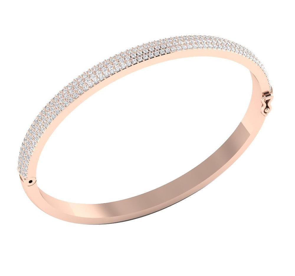 shipping luxurman women bangles for gold product bangle overstock diamond free today bracelet jewelry watches solid