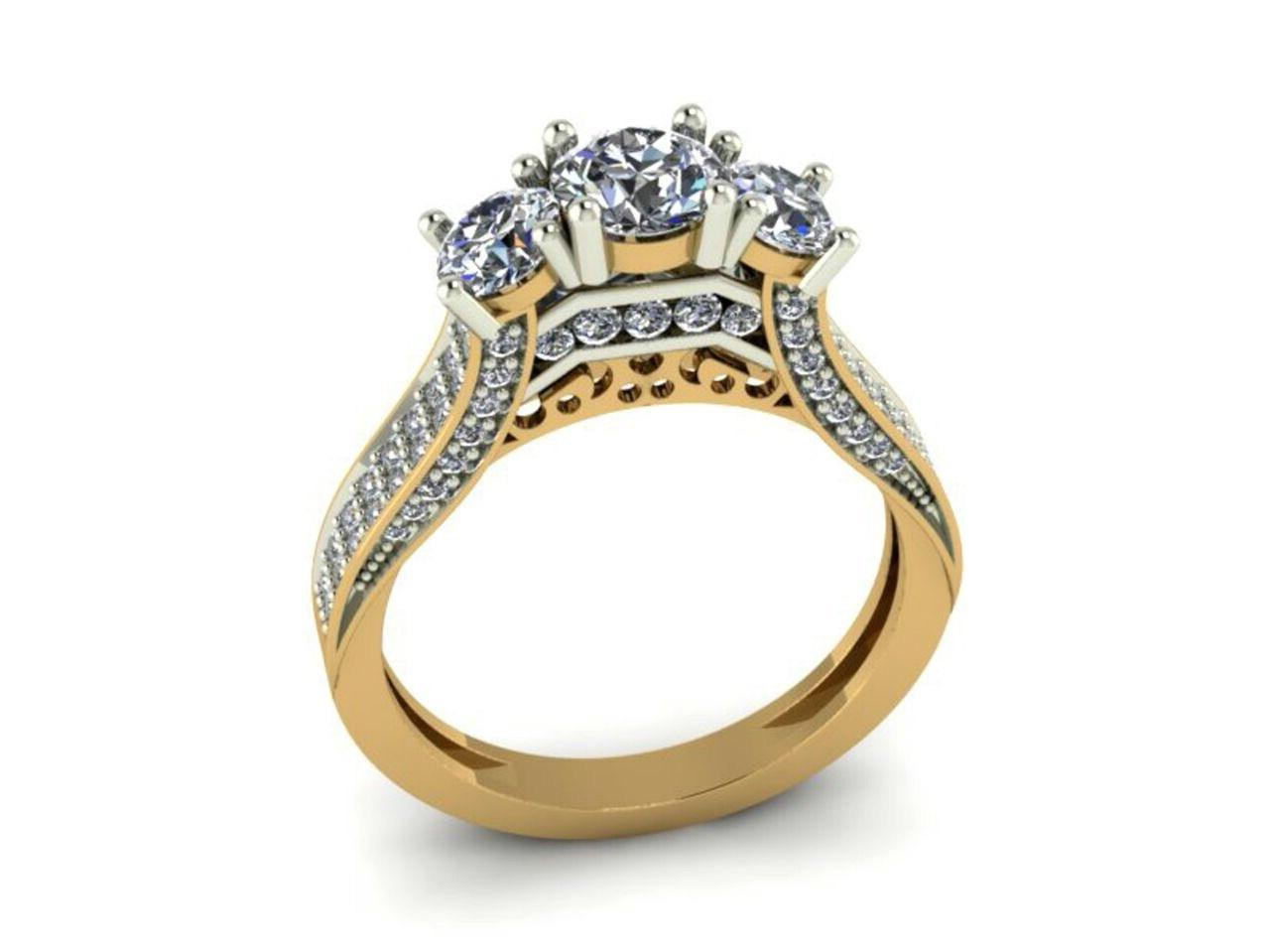 ring rings engagement full belfast stylish attachment wedding view diamond gallery lovely of