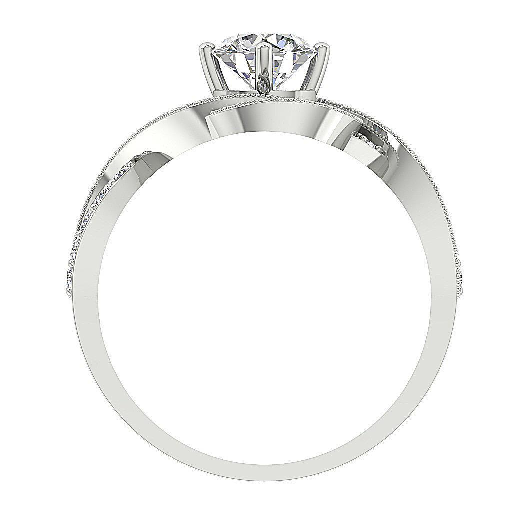 Round-Diamond-Halo-Solitaire-Anniversary-Ring-I1-G-1-50-Ct-Prong-Set-14K-Gold thumbnail 12
