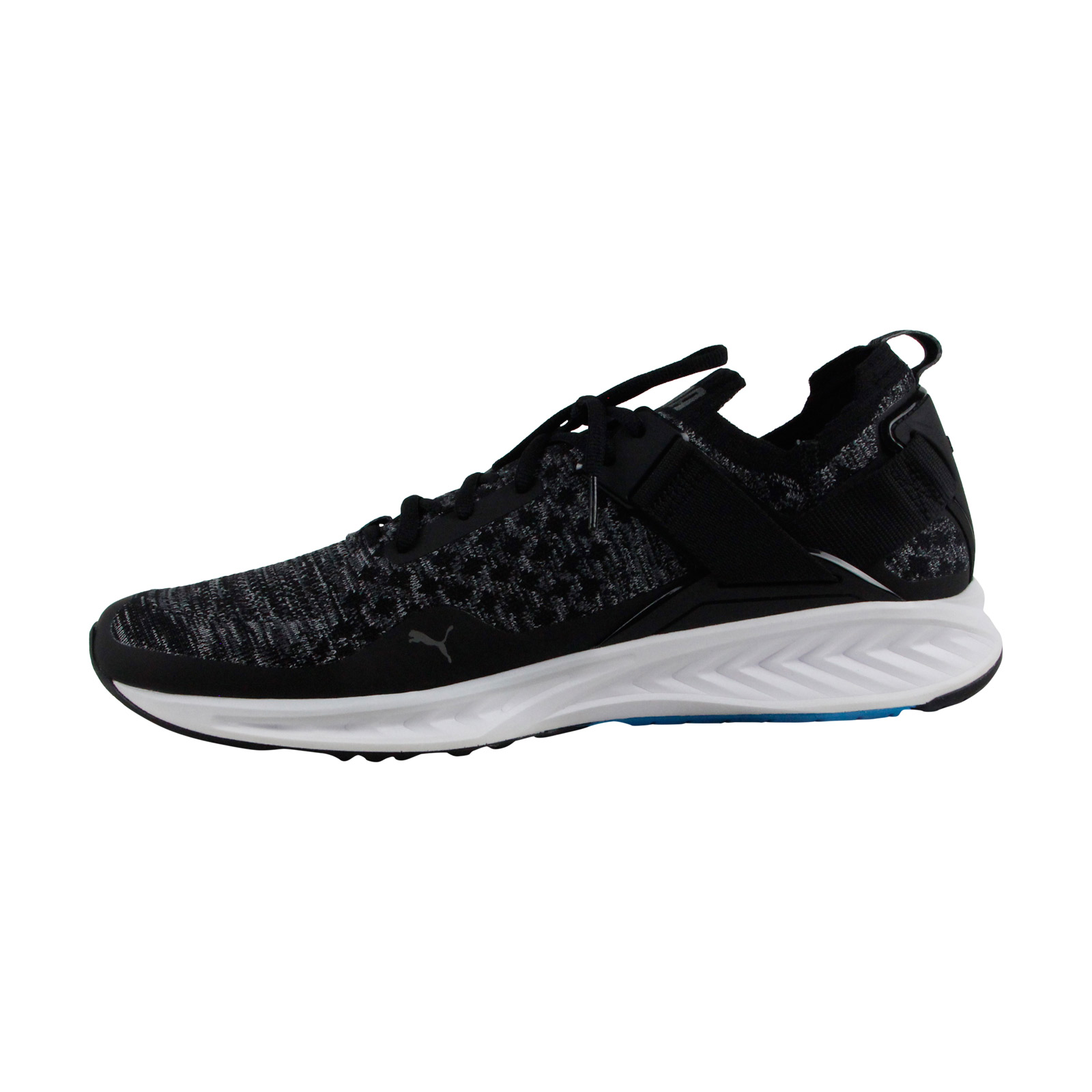 2a84abaa97c8c7 Puma Ignite Evoknit Lo Mens Black Textile Athletic Lace Up Training Shoes 2  2 of 3 See More