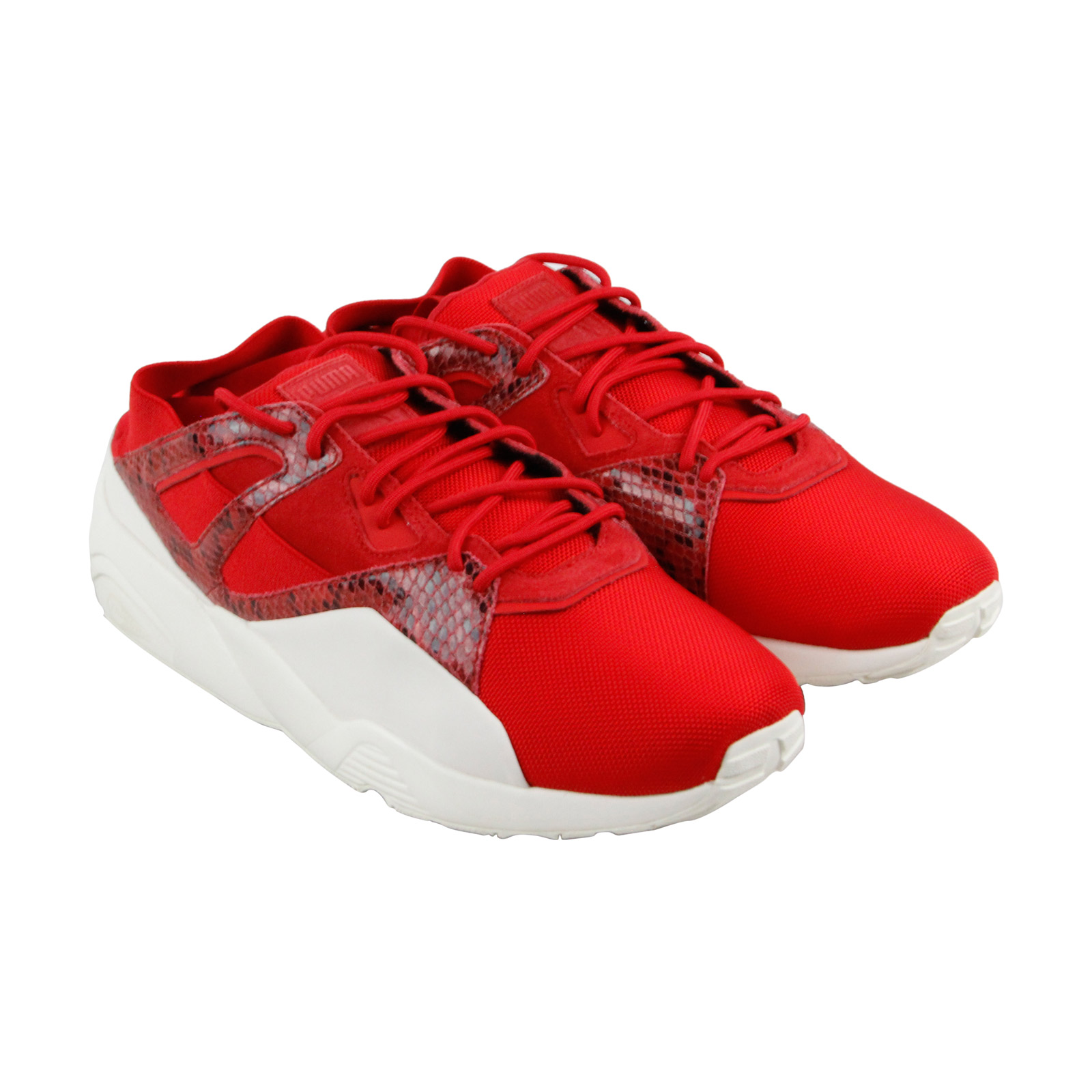 Puma B.O.G Sock Snake Mens Red Mesh Athletic Lace Up Training Shoes Great discount
