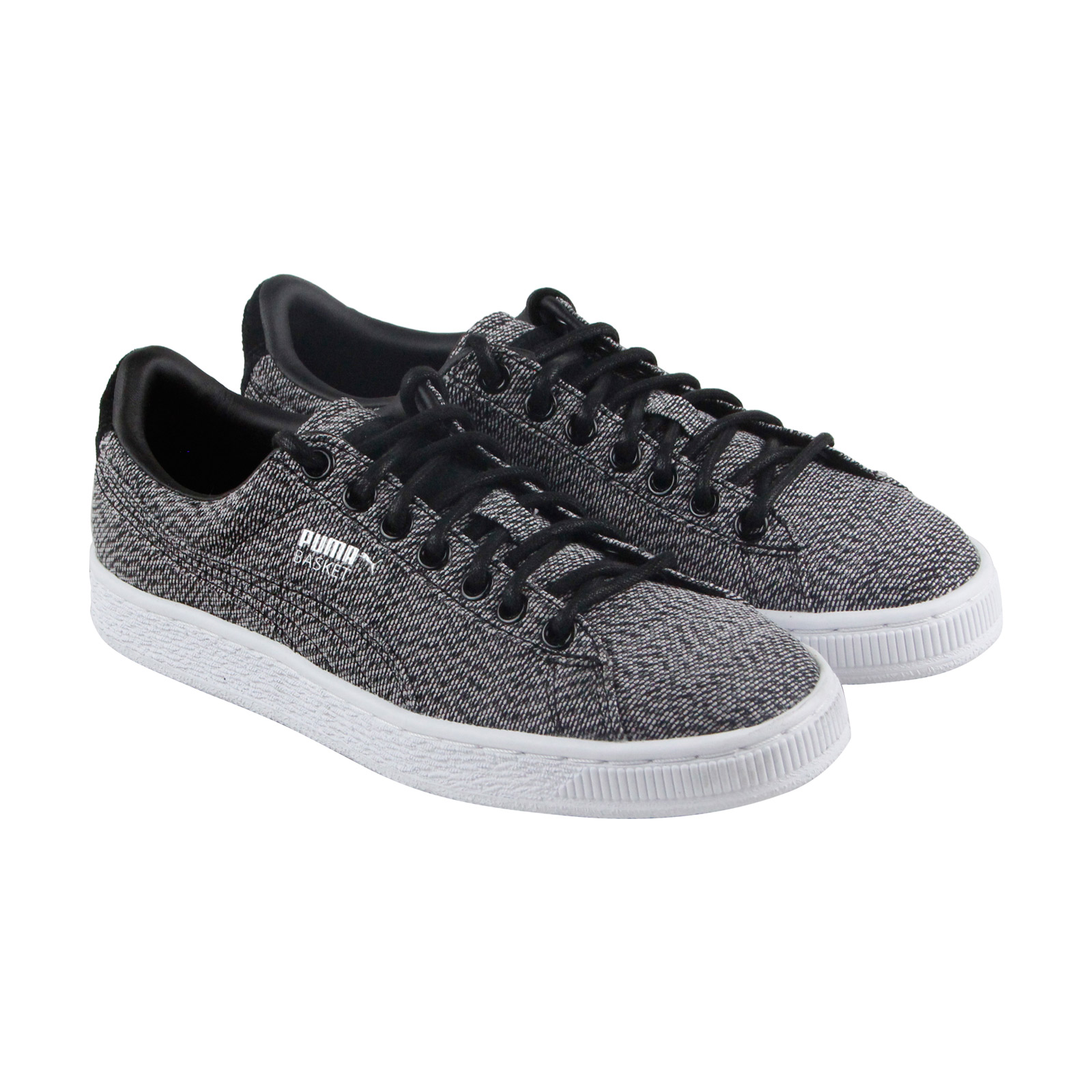79b2007b484a Puma Basket Classic Culture Surf Mens Gray Textile Sneakers Shoes ...