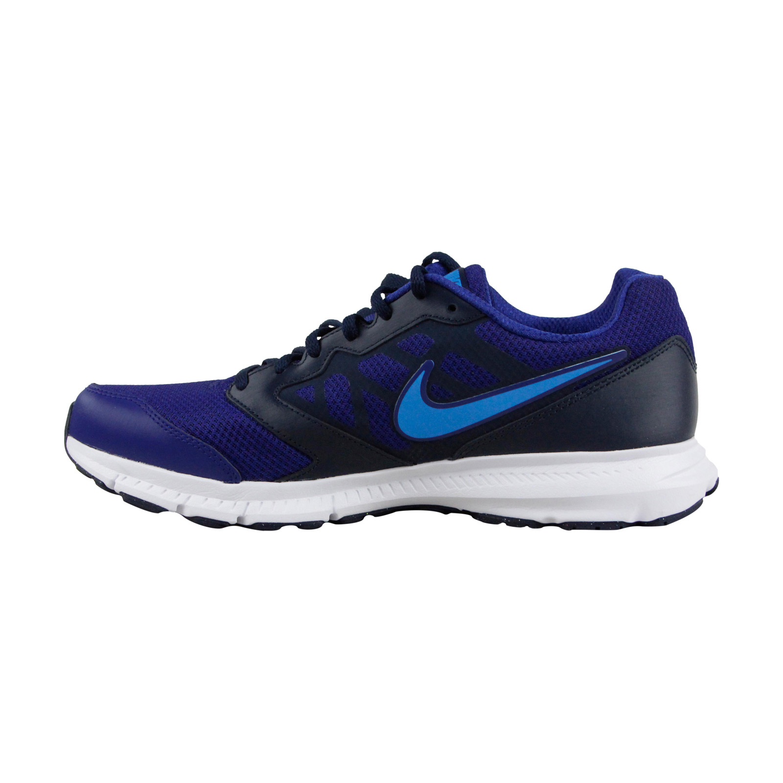 Nike Downshifter 6 Mens Running Blau Mesh Athletic Lace Up Running Mens Schuhes 1cef87