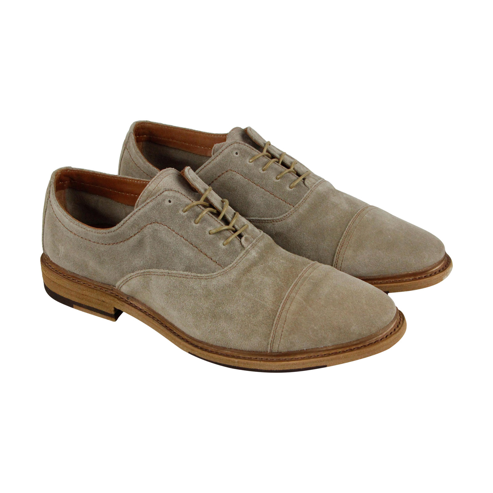 Frye Paul Bal Oxford Uomo Gray Suede Lace Casual Dress Lace Suede Up Oxfords Scarpe 88c3fa