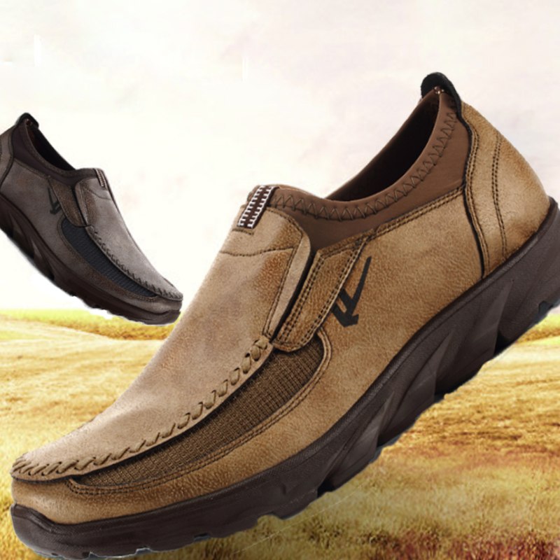 2020 Popular Men's Leather Casual Shoes