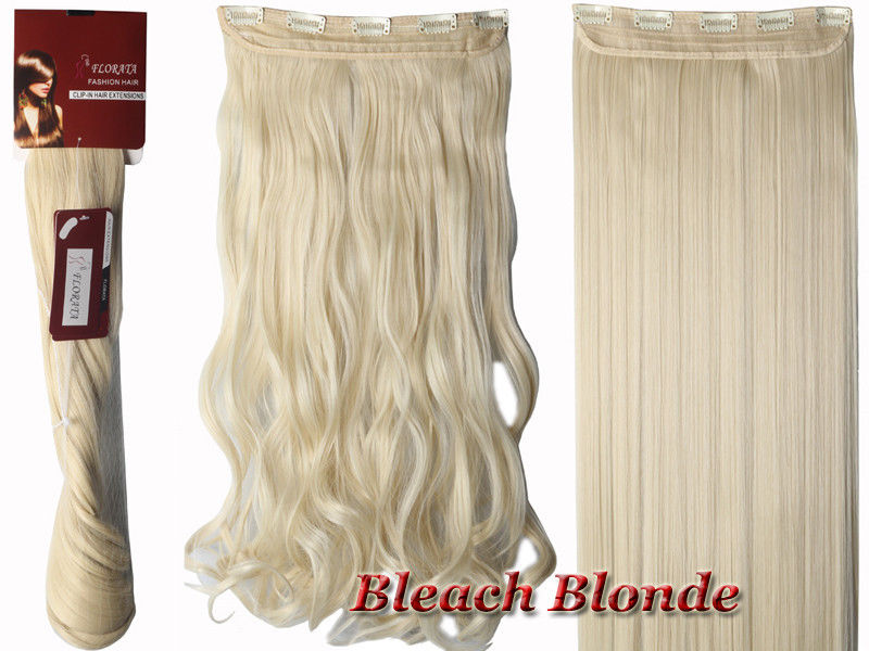 Half Full Head 5 Clips One Piece Clip In Hair Extensions Long