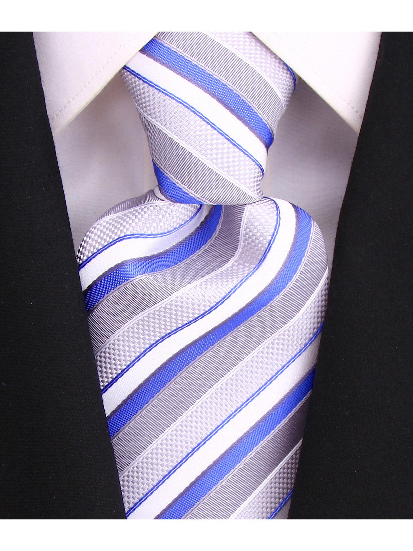 Scott-Allan-Striped-Necktie-Mens-Ties-in-Various-Colors thumbnail 27