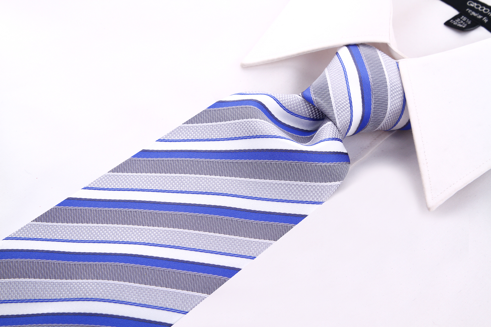 Scott-Allan-Striped-Necktie-Mens-Ties-in-Various-Colors thumbnail 29