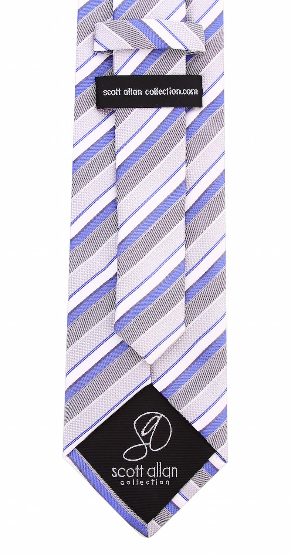Scott-Allan-Striped-Necktie-Mens-Ties-in-Various-Colors thumbnail 31