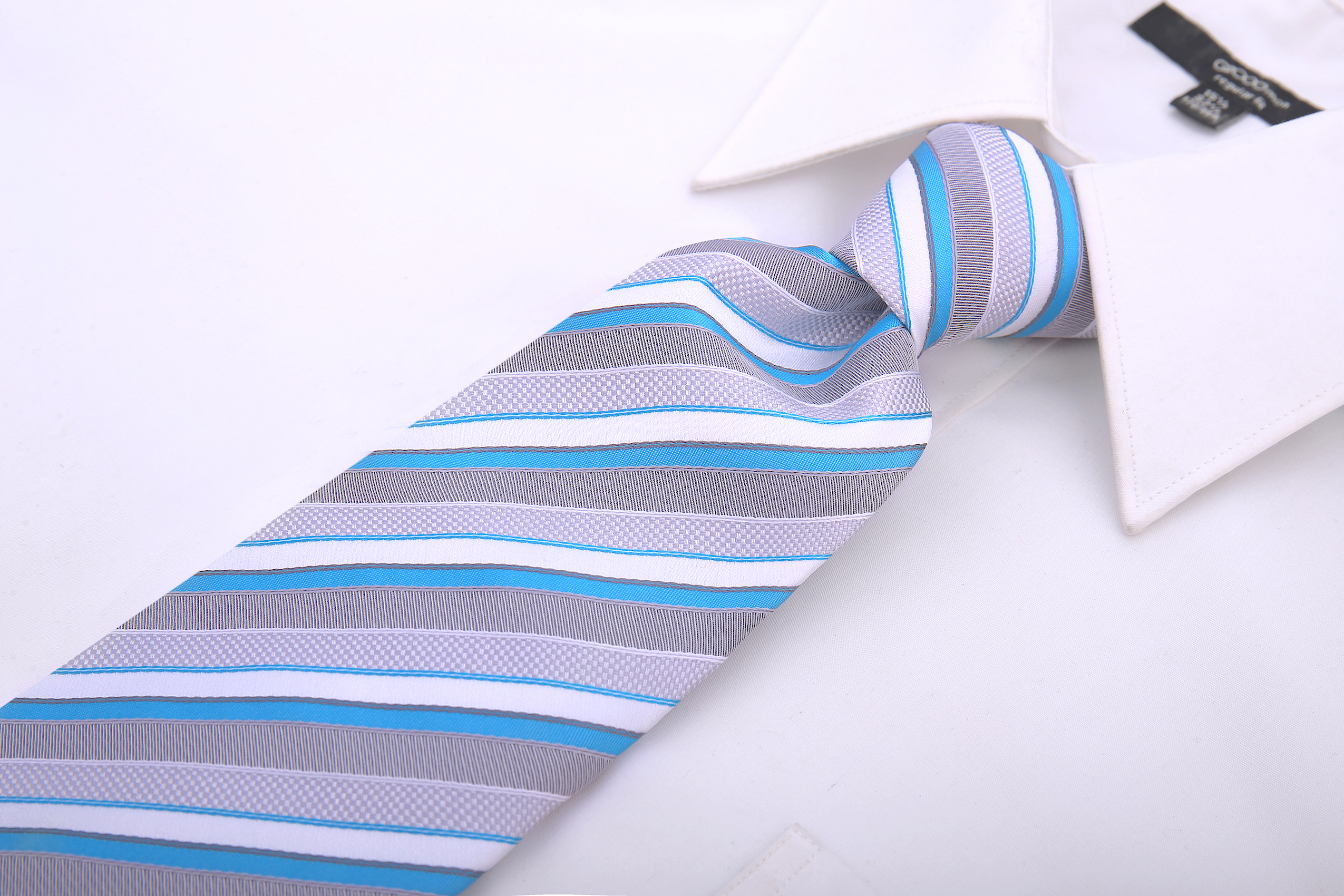 Scott-Allan-Striped-Necktie-Mens-Ties-in-Various-Colors thumbnail 36