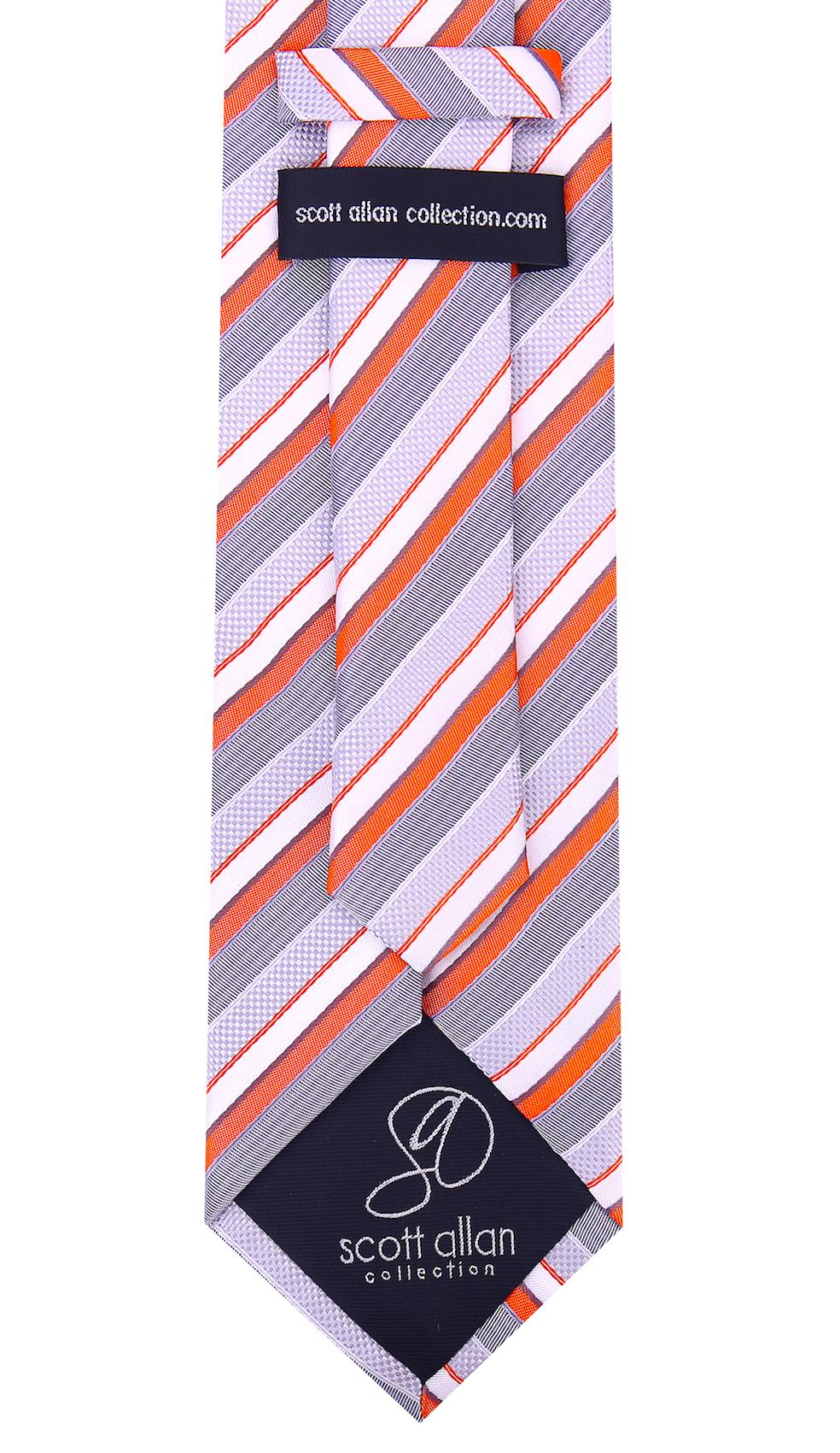 Scott-Allan-Striped-Necktie-Mens-Ties-in-Various-Colors thumbnail 21
