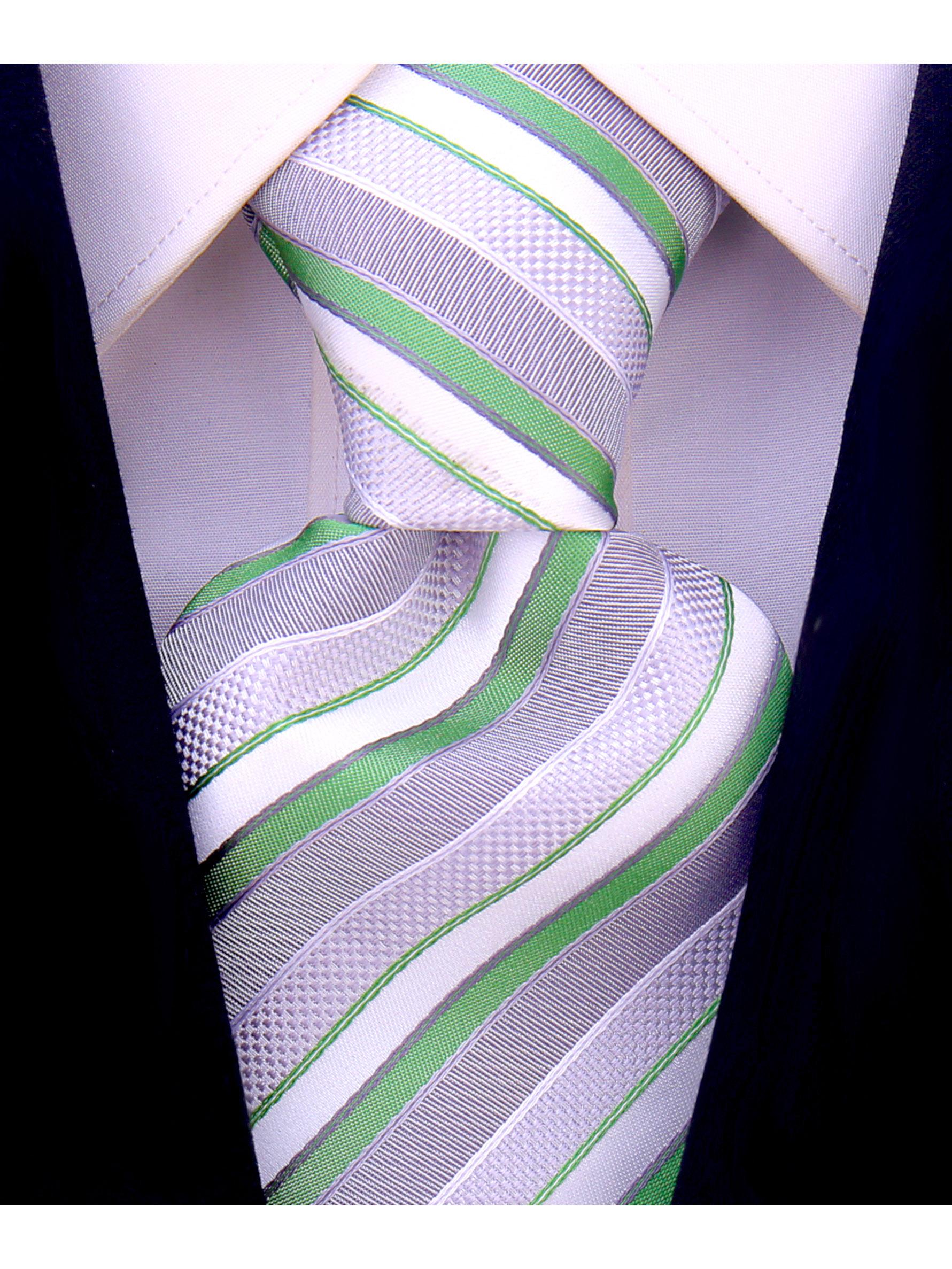 Scott-Allan-Striped-Necktie-Mens-Ties-in-Various-Colors thumbnail 12