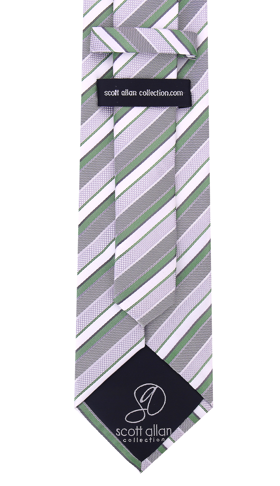 Scott-Allan-Striped-Necktie-Mens-Ties-in-Various-Colors thumbnail 16