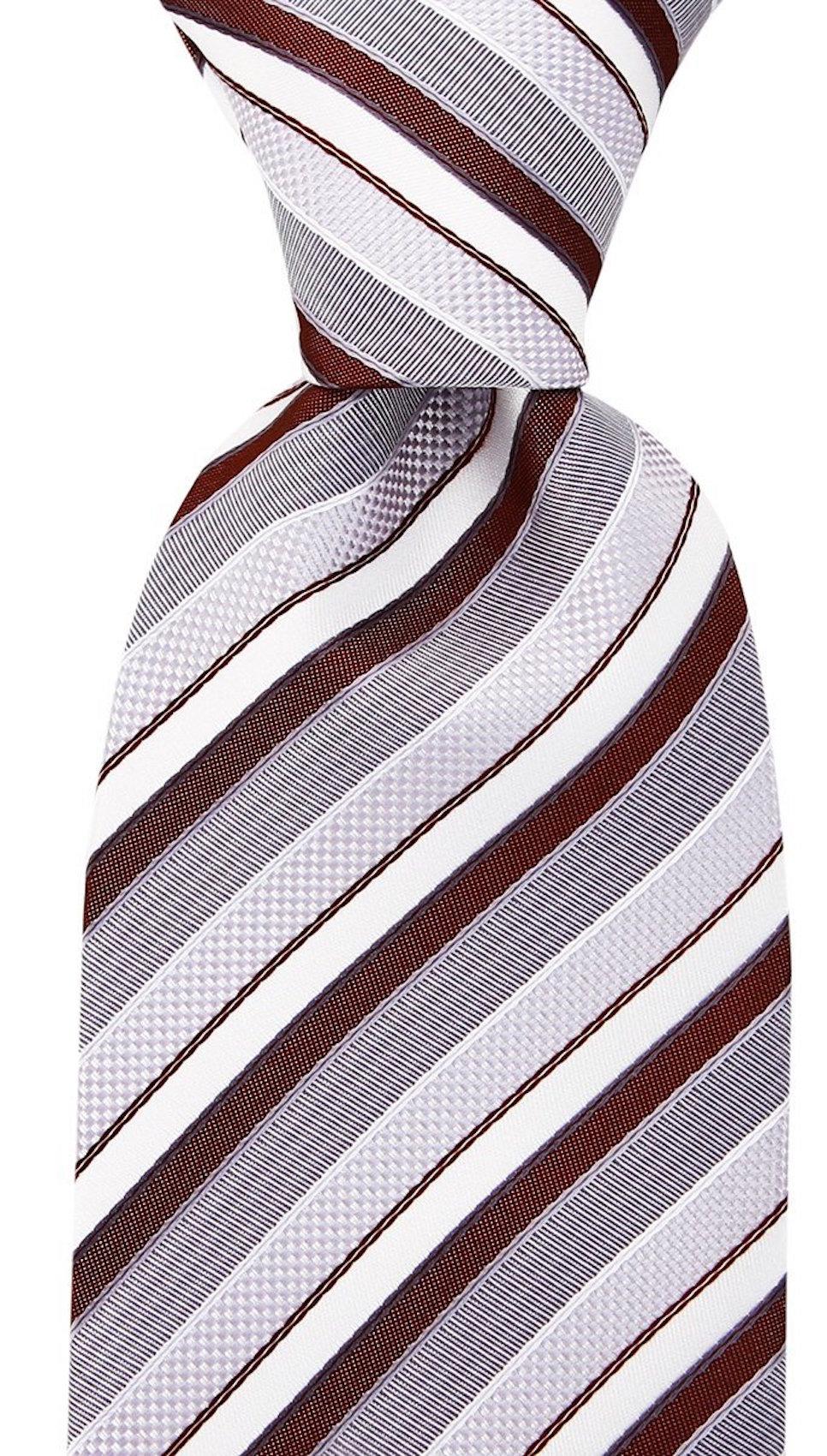 Scott-Allan-Striped-Necktie-Mens-Ties-in-Various-Colors thumbnail 9