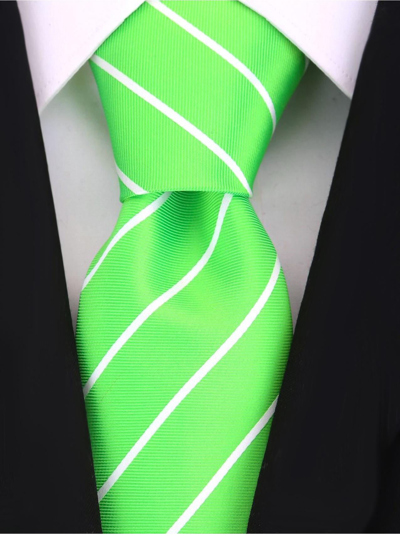 Scott-Allan-Mens-Necktie-Pencil-Striped-Mens-Tie thumbnail 27