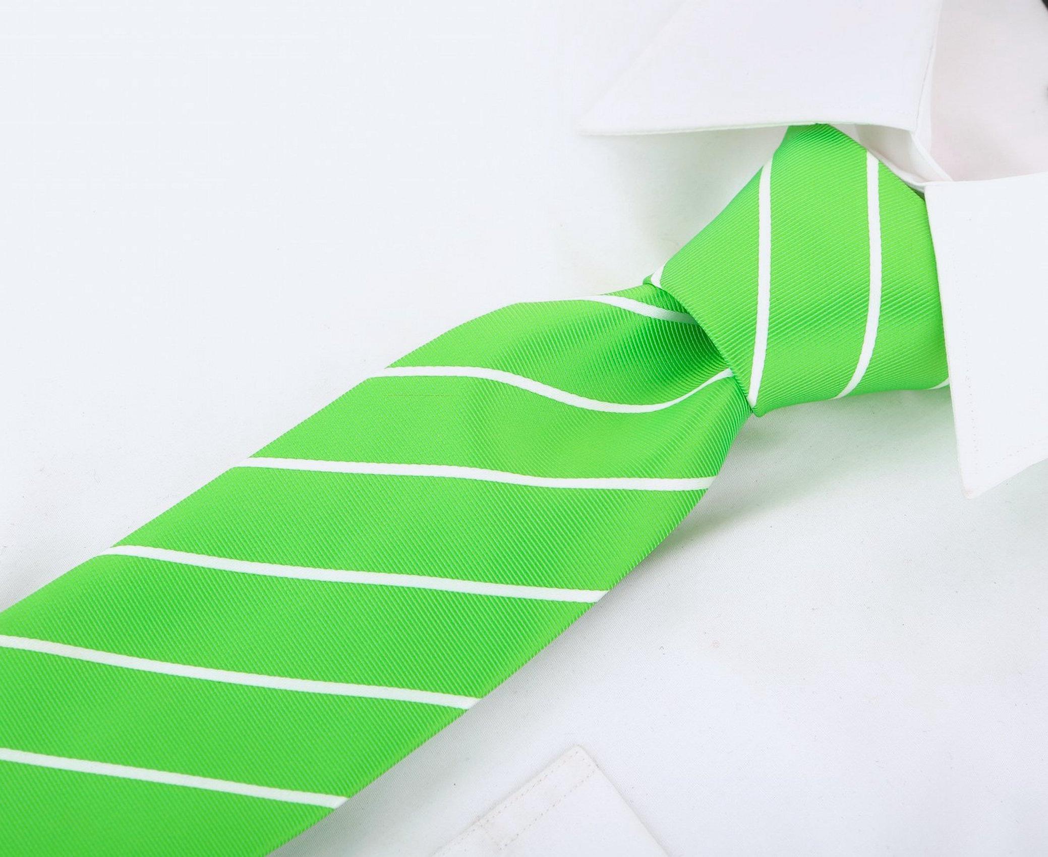 Scott-Allan-Mens-Necktie-Pencil-Striped-Mens-Tie thumbnail 29