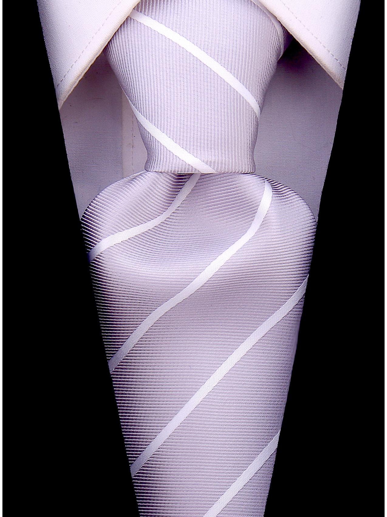 Scott-Allan-Mens-Necktie-Pencil-Striped-Mens-Tie thumbnail 21