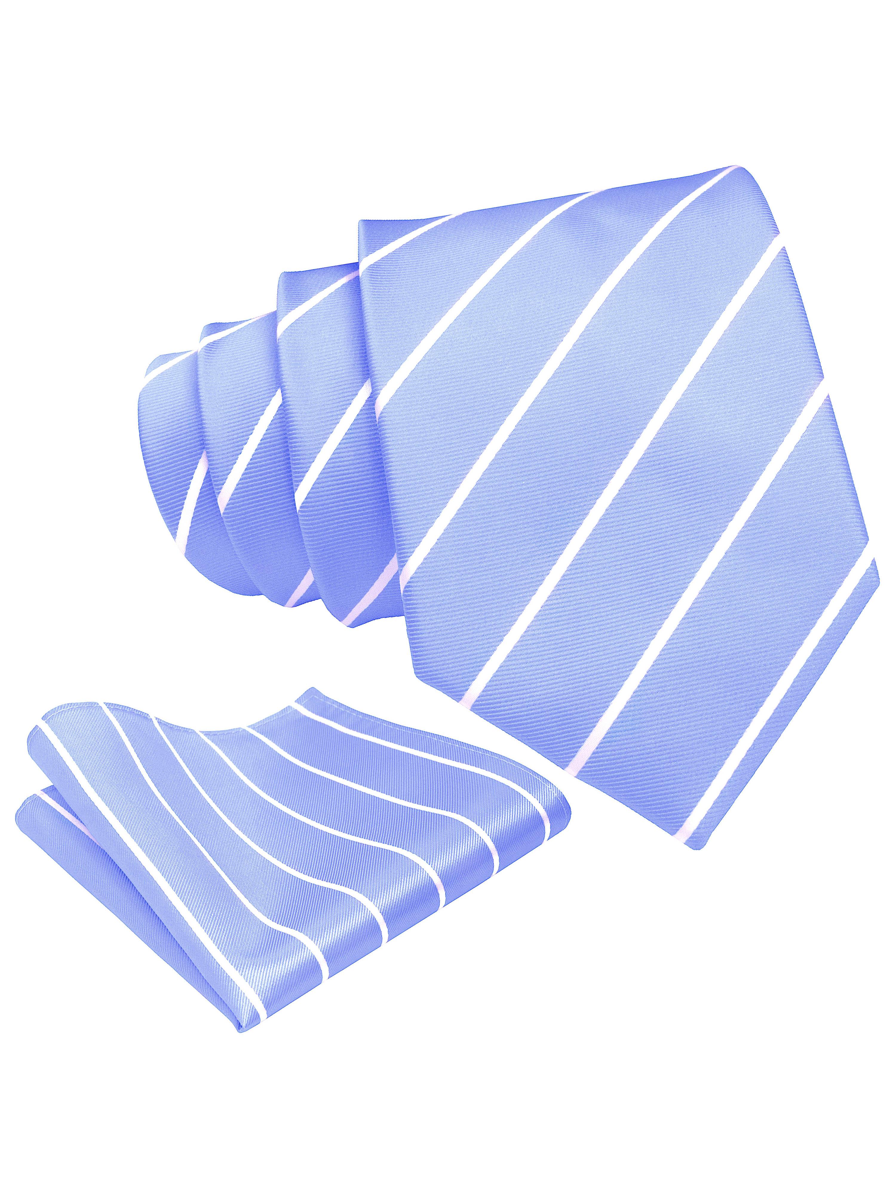 Scott-Allan-Mens-Necktie-Pencil-Striped-Mens-Tie thumbnail 41
